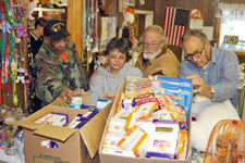 Mancelona Food Pantry volunteers